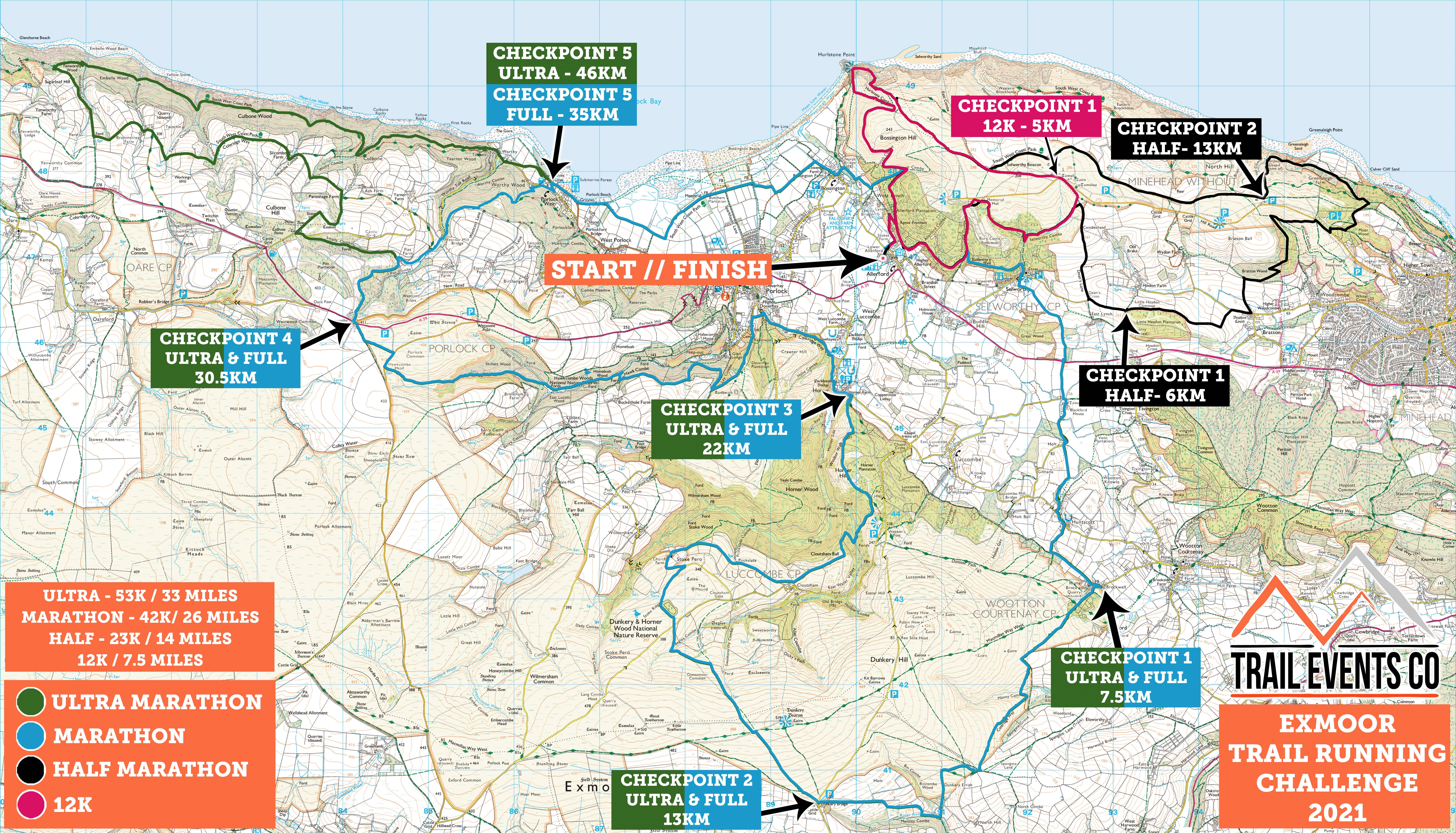 Exmoor Multi Route
